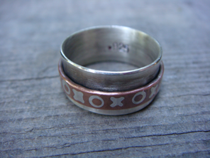 Spinner Rings workshop at Tacoma Metal Arts Center-learn to solder