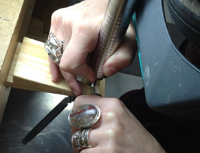 learn to make jewelry classes at tacoma metal arts